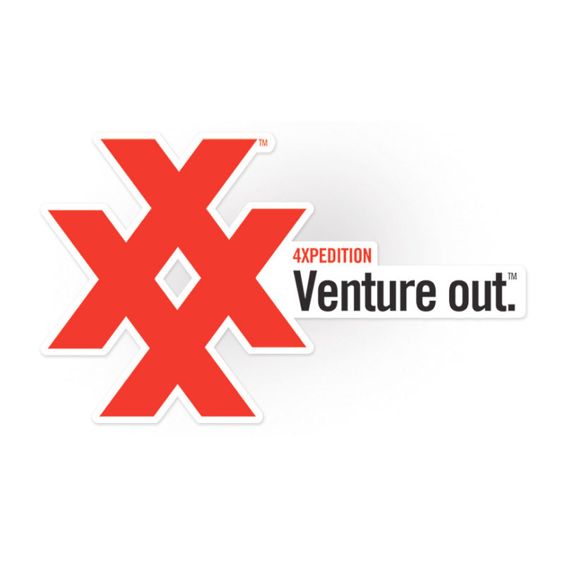 4xpedition crossover icon and venture out sticker