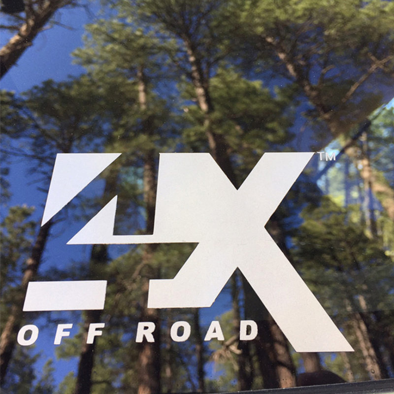 4x Offroad Decal