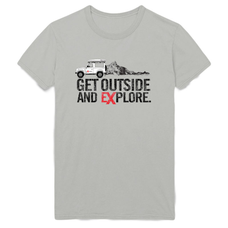 4x Get Outside and Explore Tee