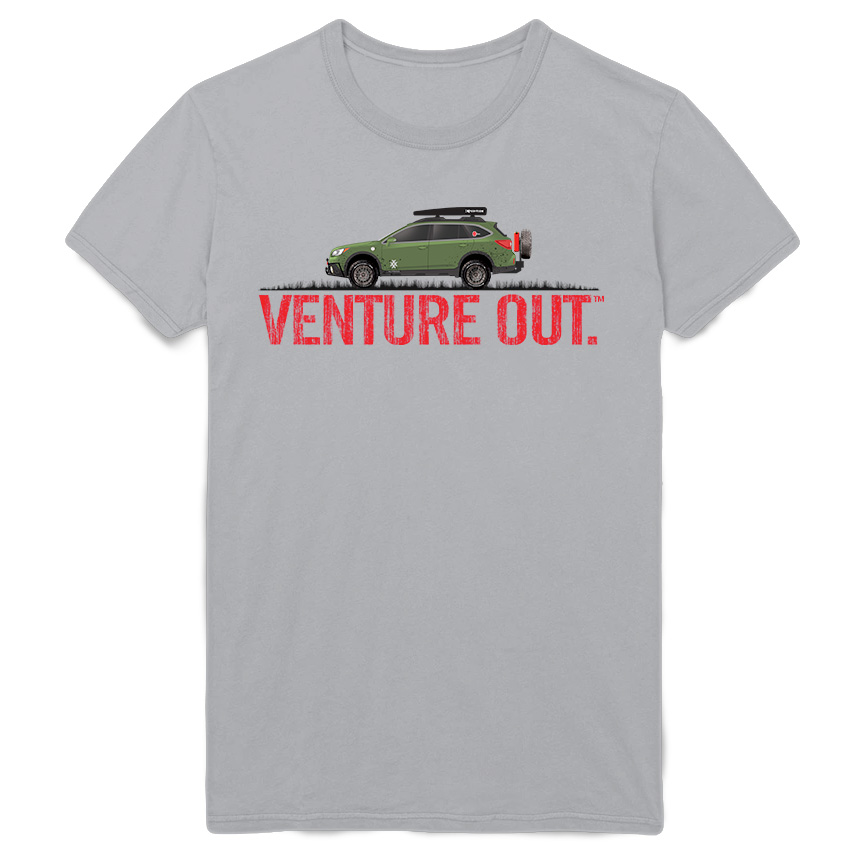 4X Venture Out Subaru Overland Road Warrior Tee