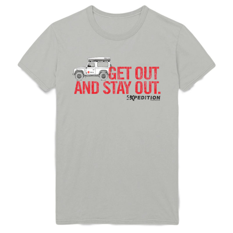 4x Get out and Stay Out Rover Tee