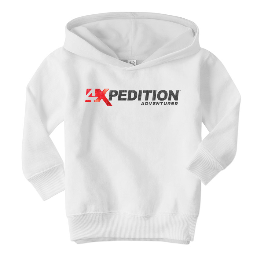4xpedition Adventurer Classic White Hoodie