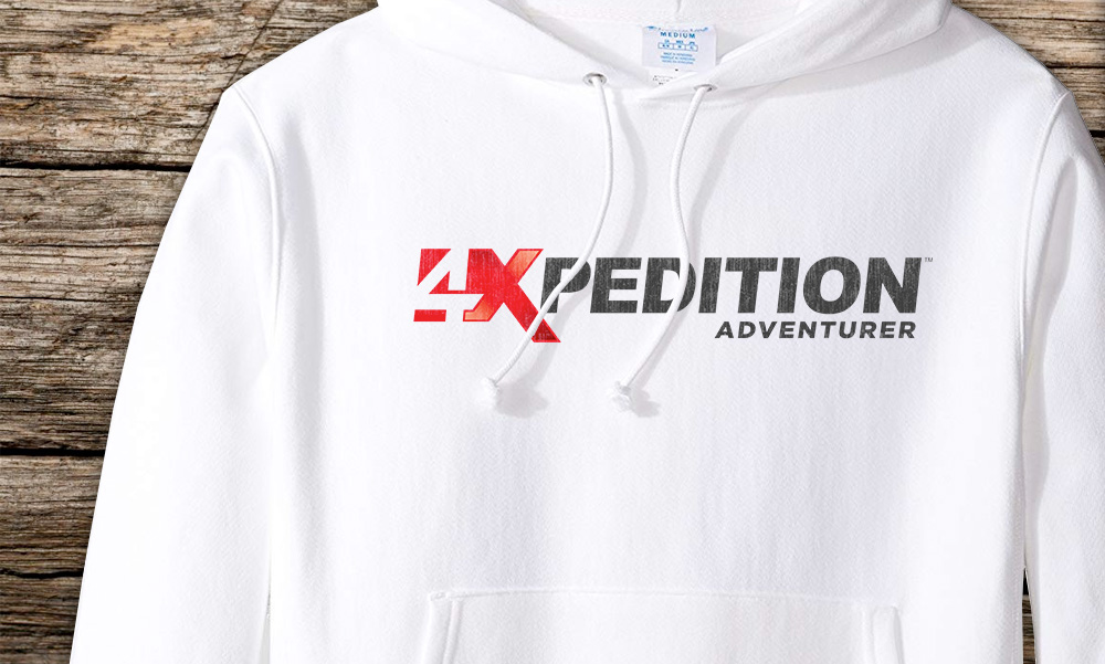4xpedition branded hoodie