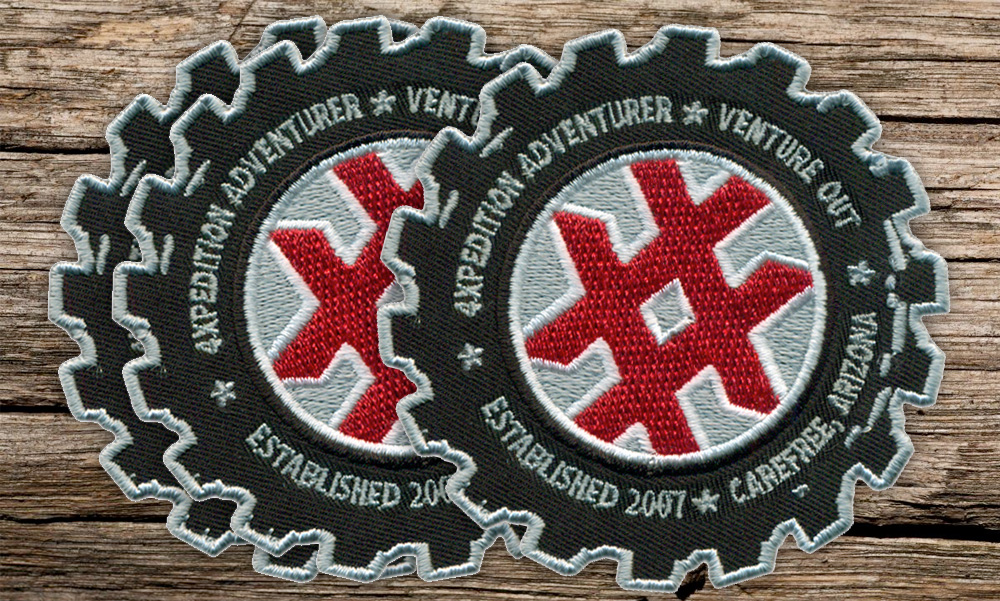 4XPEDITION Branded Patch