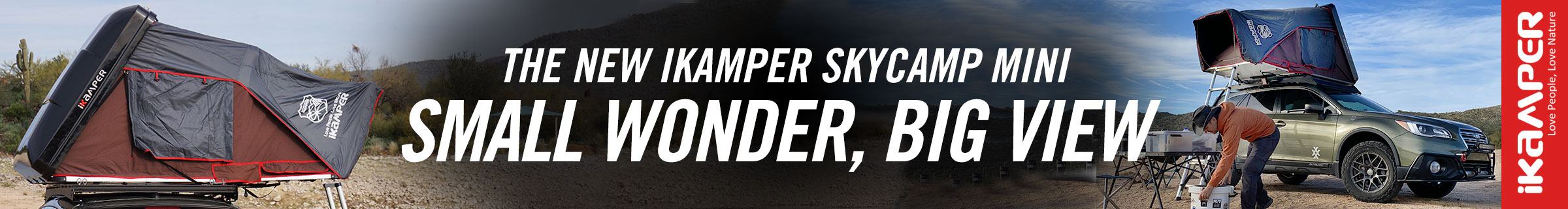 iKamper Skycamp Mini 4XPEDITITION Subaru Outback