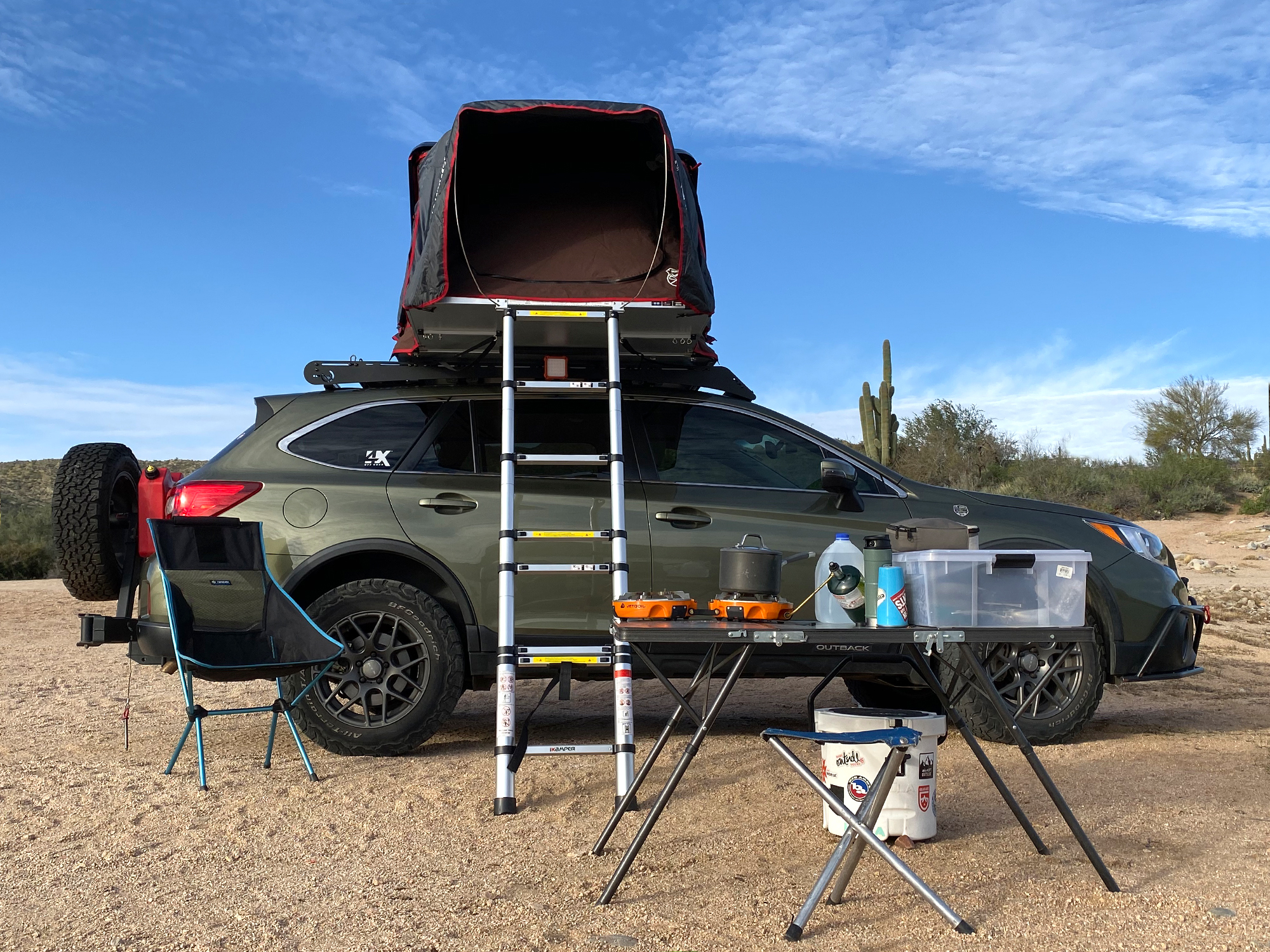4xpedition Subaru Outback iKamper Skycamp Mini