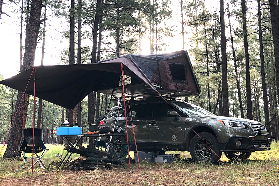 4XPEDITION Subaru Outback Overland Build