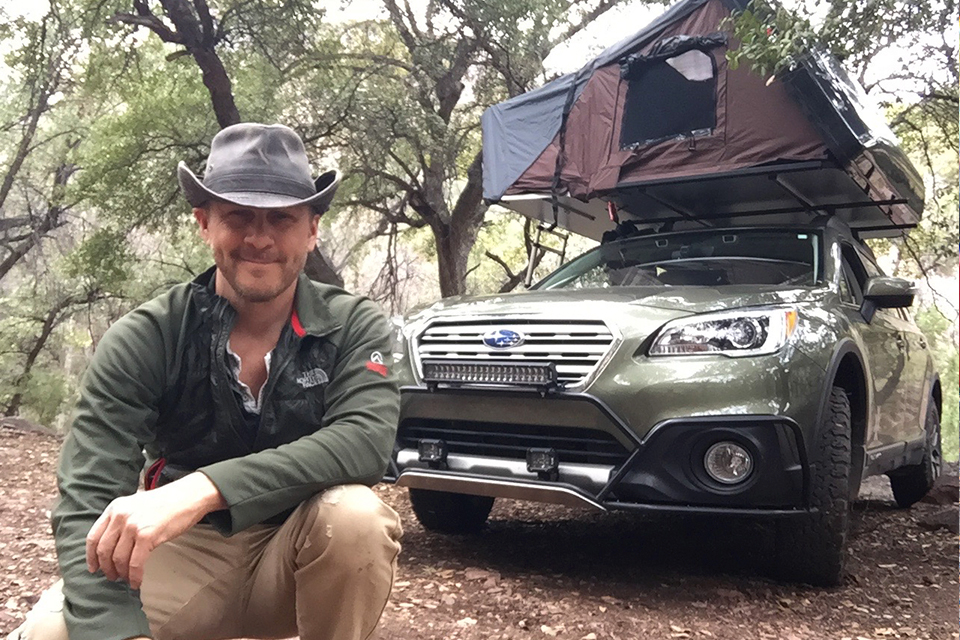 4XPEDITION Subaru Outback Scott Leuthold
