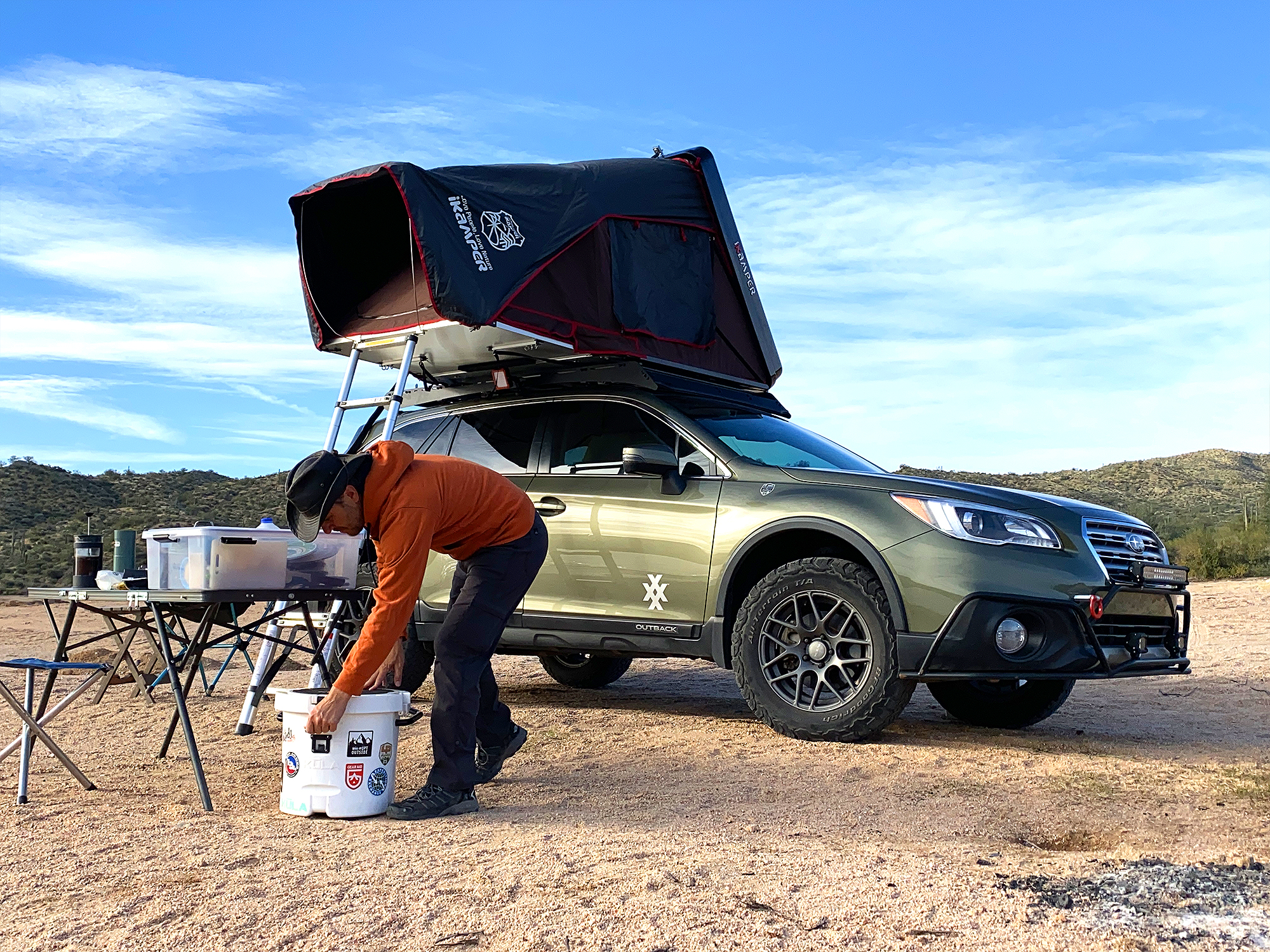 4xpedition subaru outback overland road warrior scott leuthold