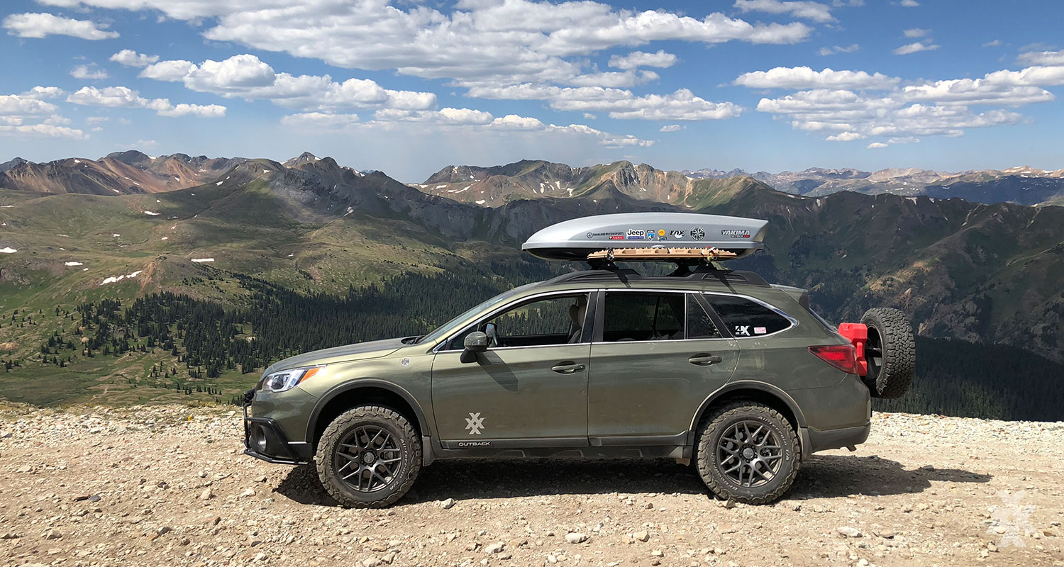 4xpedition Subaru Outback Overland Road Warrior Engineer's Pass