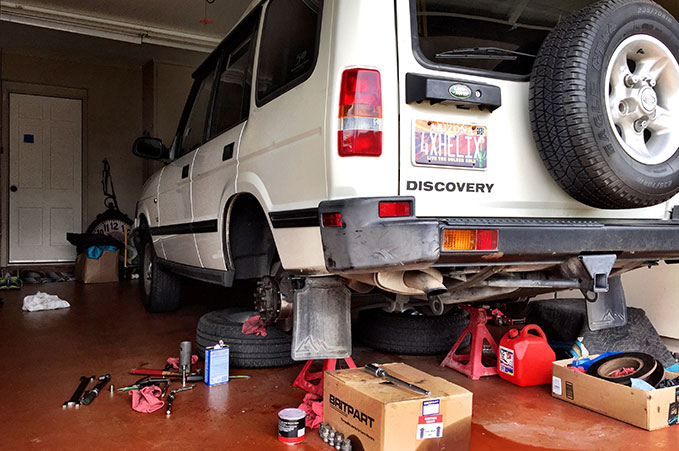4XPEDITION Land Rover Discovery Build