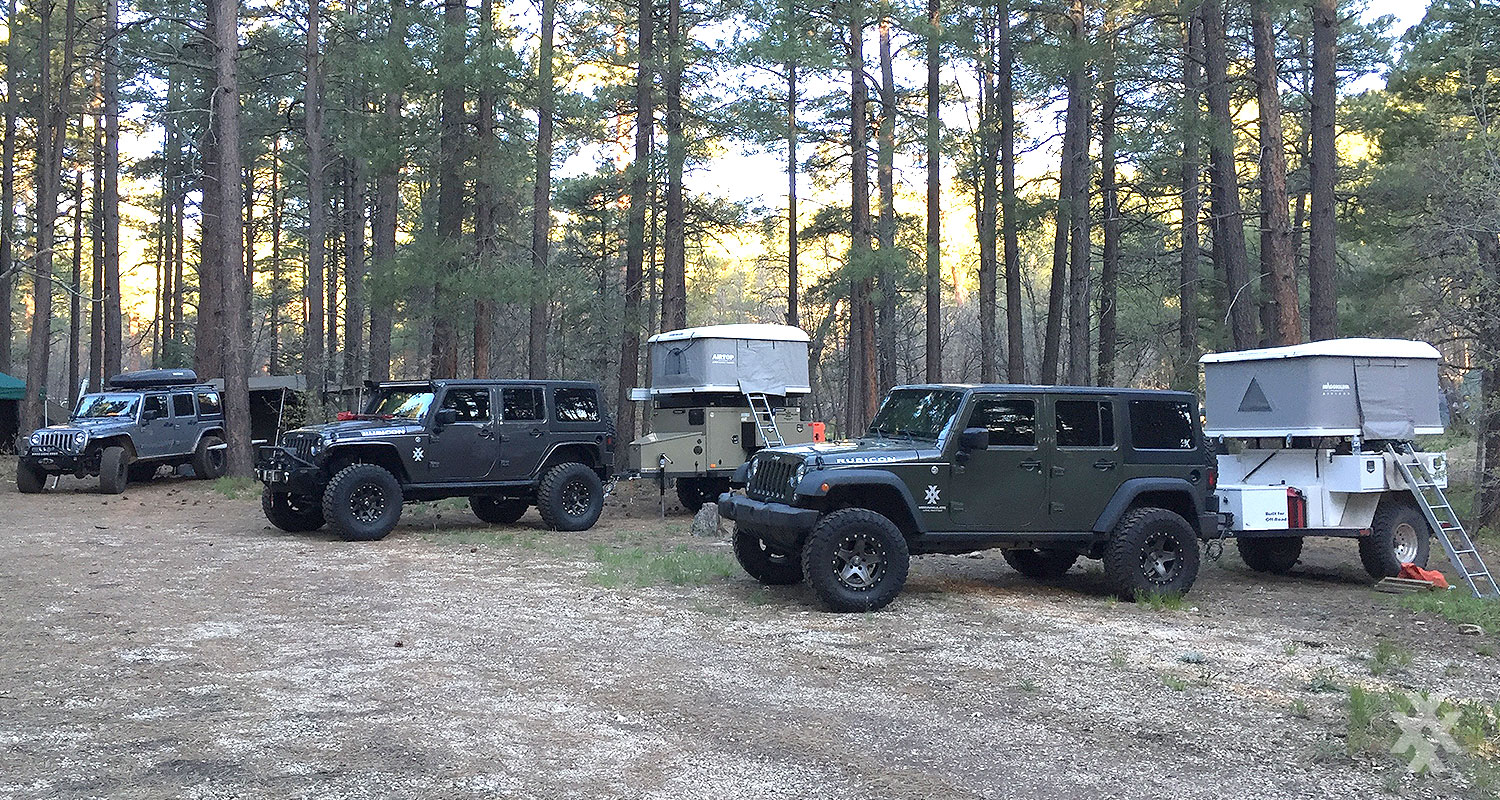 4XPEDITION Jeep Rubicons Overland Expo