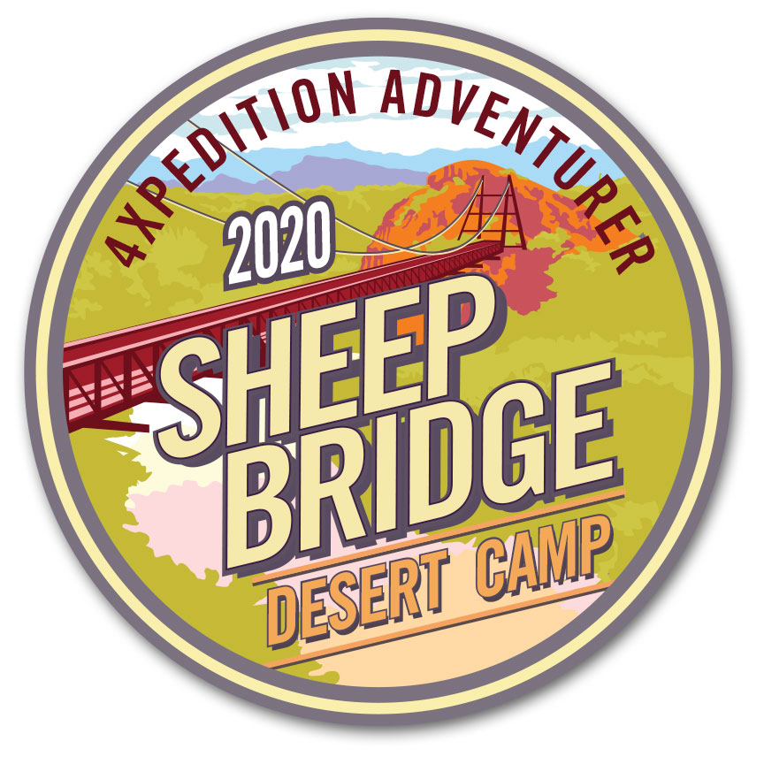 4XPEDITION Excursions Sheep Bridge Desert Camp 2020