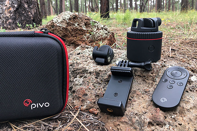4XPEDITION Product Photography Pivo Motorized Swivel Mount