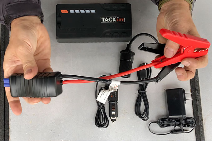 4XPEDITION Product Reviews Tacklife T6 Portable Jumpstarter
