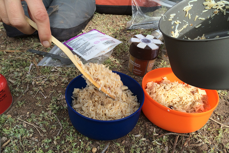 4xpedition backpacking food