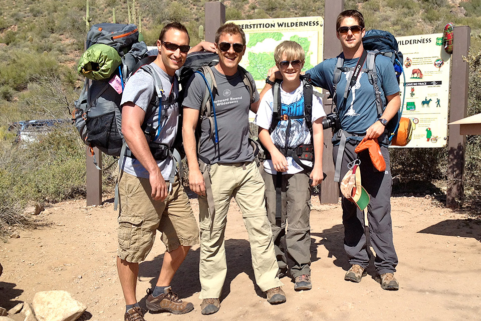4xpedition scott leuthold backpacking superstition wilderness