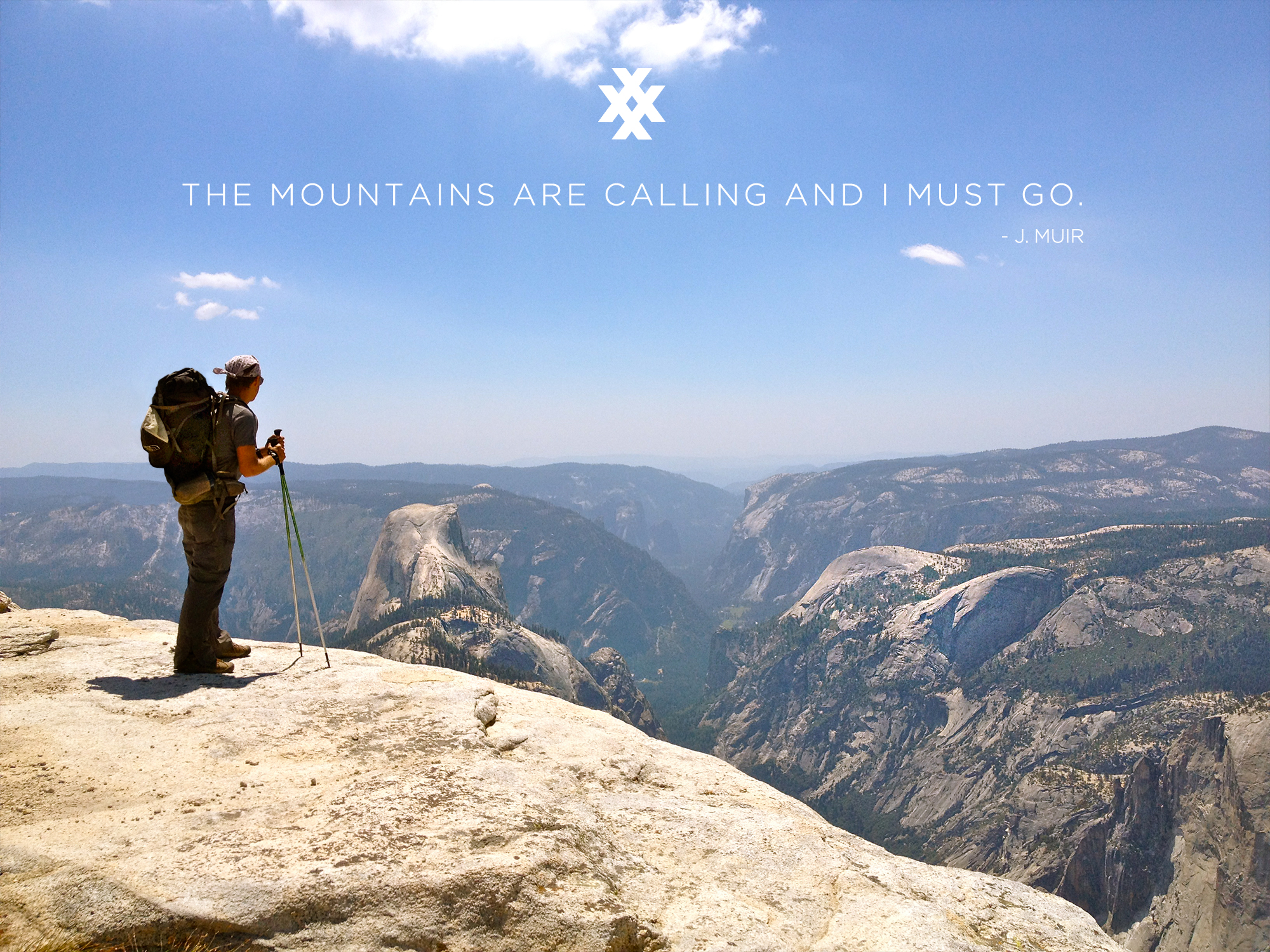4xpedition backpacking equipment john muir yosemite national park half dome clouds rest