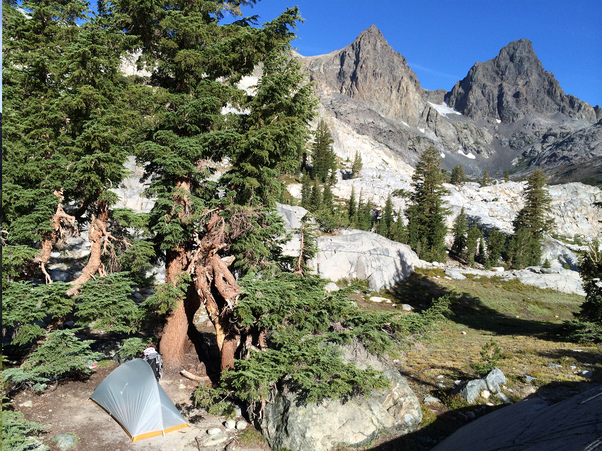 4xpedition backpacking John Muir Trail