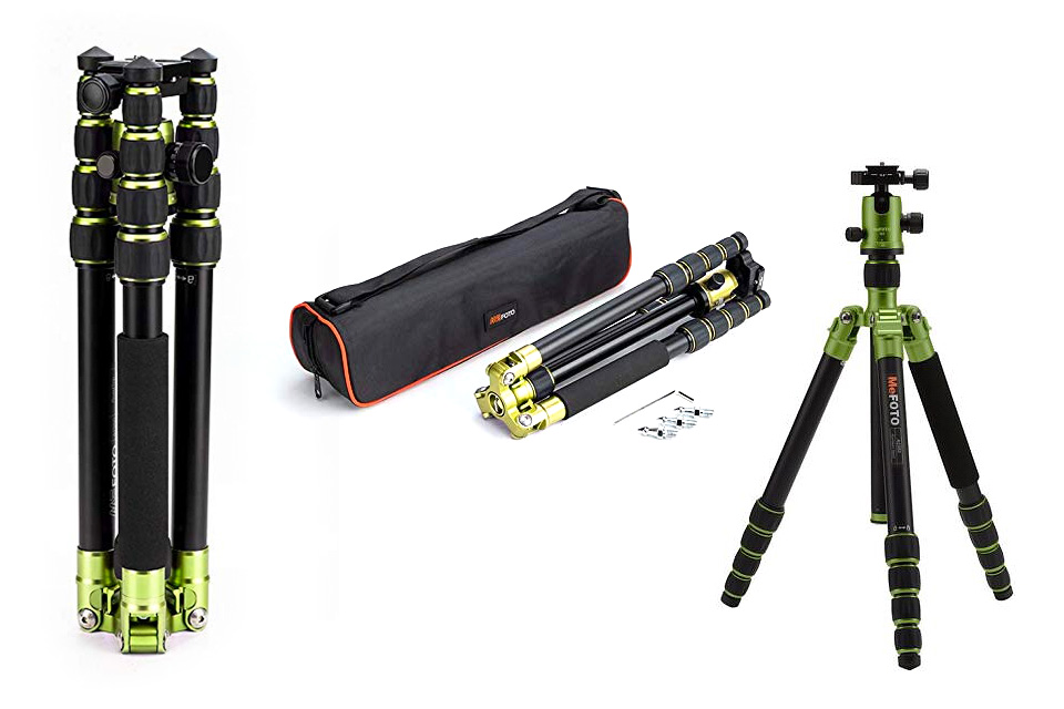 4xpedition filming equipment mefoto tripod