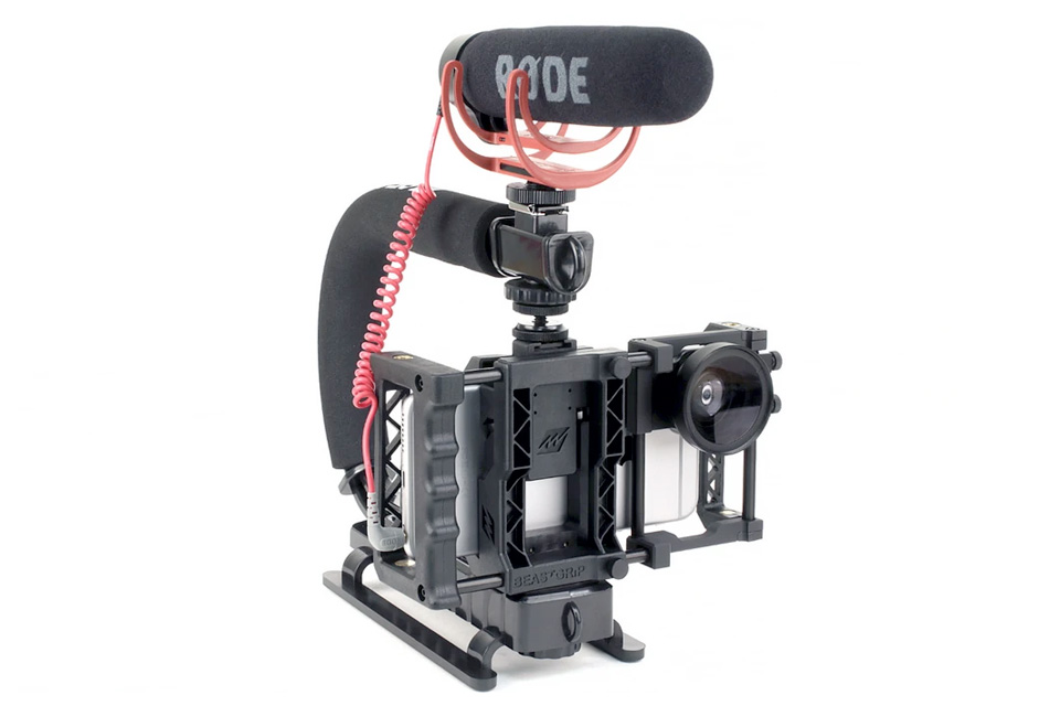 4xpedition filming equipment beast grip