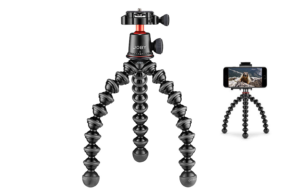 4xpedition filming equipment joby gorillapod