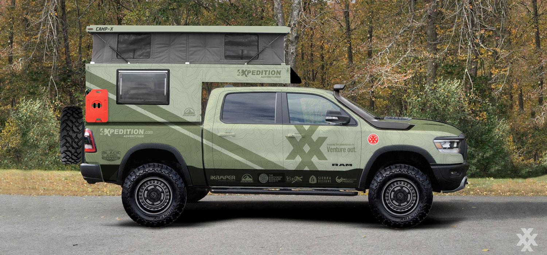 4xpedition RAM 1500 Long Range Overland Explorer